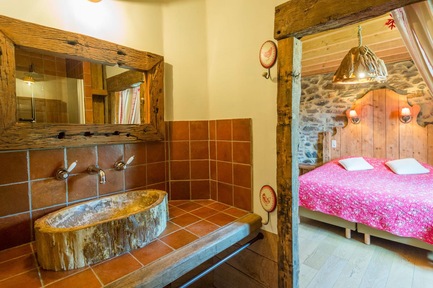 Salle de bain montagnarde