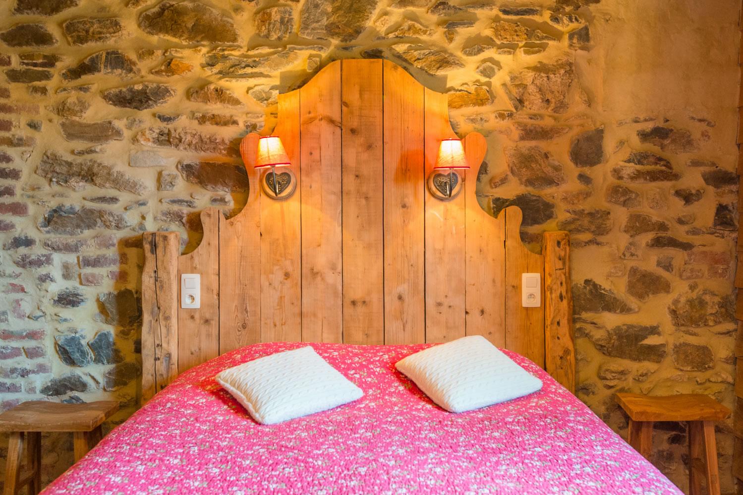 Chambre Montagnarde tête de lit